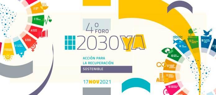 Foro 2030YA: Acción para la Recuperación Sostenible