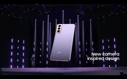 El nuevo Samsung S21 trae una nueva cámara y un diseño inspirador.