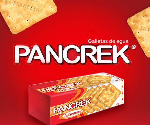 Galletas Pancrek el alimento más conocido de empresa La Francesa.