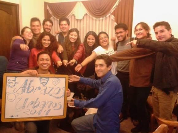 Voluntarios de A-BRAZOS reunidos hace 7 años atrás