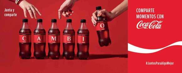 Coca Cola tiene una presencia muy fuerte en la vida de la gente.