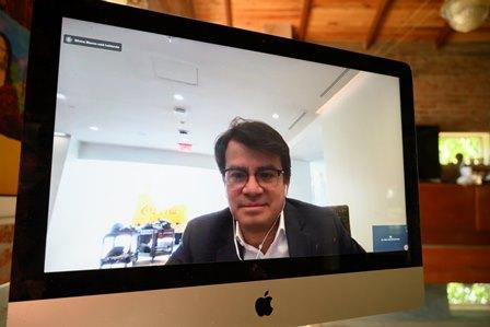 """Javier Meza confía que """"Alfabeto"""", la nueva activación de la campaña Juntos para algo mejor, de Coca Cola, será un éxito."""
