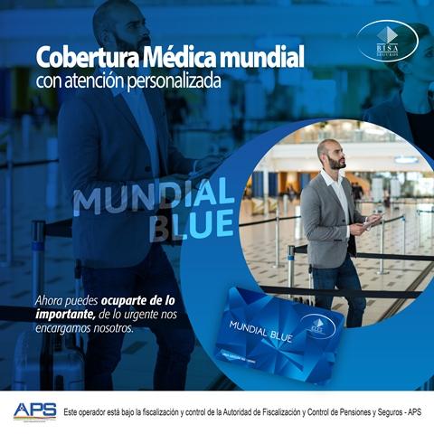 Mundial Blue de BISA Seguros ofrece atención médica en más de 200 países.