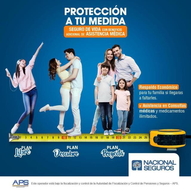 """La compañía Nacional Seguros lanza un innovador seguro dos en uno: """"A tu medida"""", que suma un seguro de vida y asistencias médicas"""