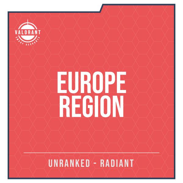 Europe Region Valorant Account