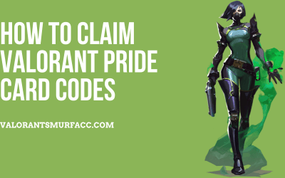 How to claim Valorant Pride card codes