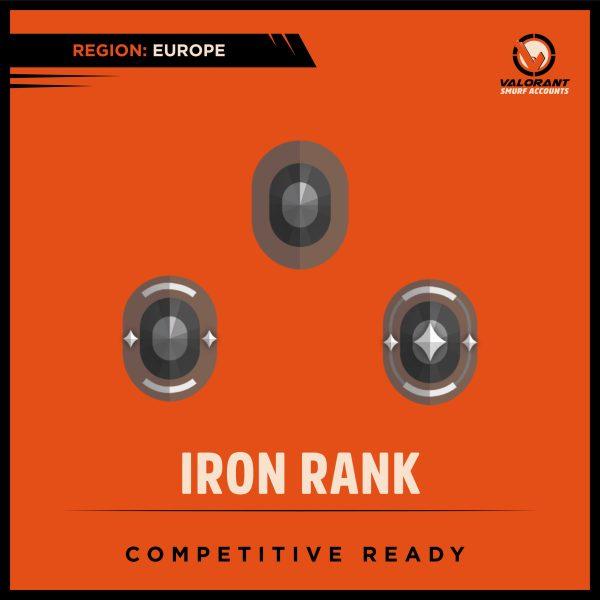 Valorant Iron Rank Account