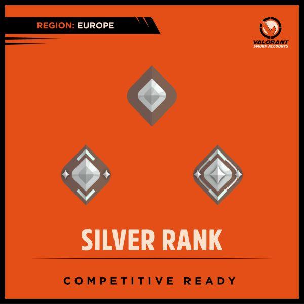 Valorant Silver Rank Account