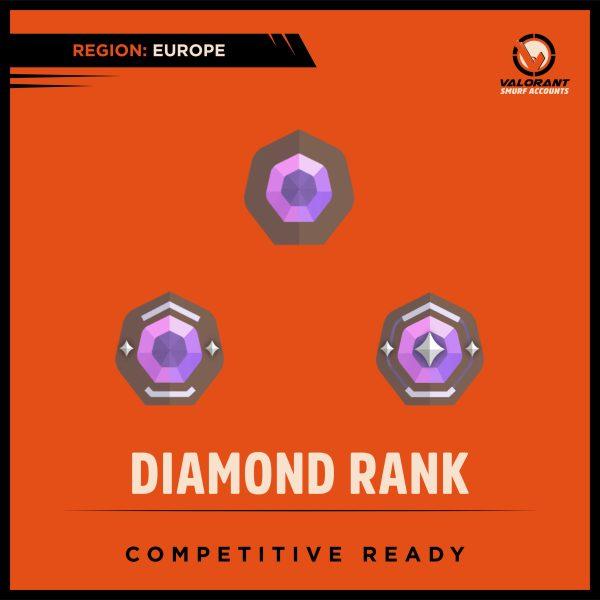Valorant Diamond Rank Account