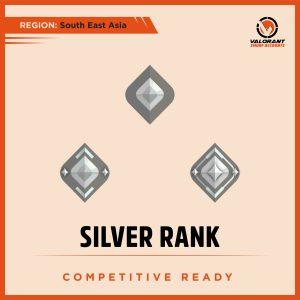 SEA Valorant Silver rank Account for sale