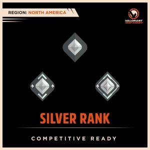 NA Valorant Silver Rank Accounts
