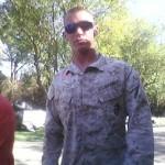 Ryan Brashears in Marine uniform 1