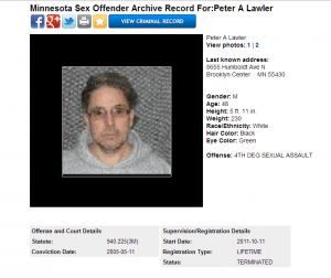 Peter Lawler Sex Offender