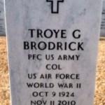 Troye Broderick headstone1