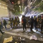 Portland Mayor Finally Admits Violent Riots Aren't the Same as 'Peaceful Protests'
