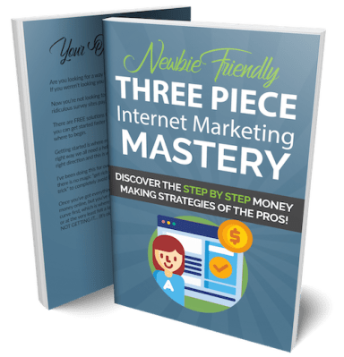 Three Piece Internet Marketing Mastery