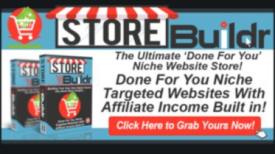 Storebuildr, Ready Made Websites for $9.95