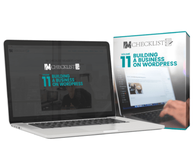 IM CHECKLIST VOLUME 11: BUILDING A BUSINESS ON WORDPRESS