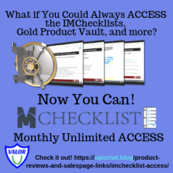 IMChecklist Access Ad