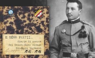 """L' Associazione storico-culturale Memores ha recentemente presentato al pubblico il libro """"E Sémm partii"""", diario di guerra del Kaiserjäger alense Giuseppe Veronesi, 1914-1918."""