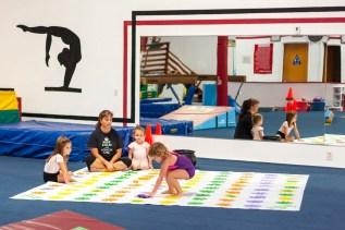 Friday morning at Windsor gymnastics