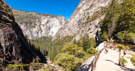 Day Two: The top of Vernal Falls