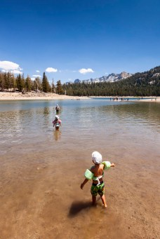 Day Six: Swimming at Horseshoe Lake