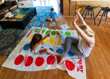 Twister with Cheryl