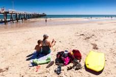 Beach day at Henley