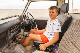 Max in his ute