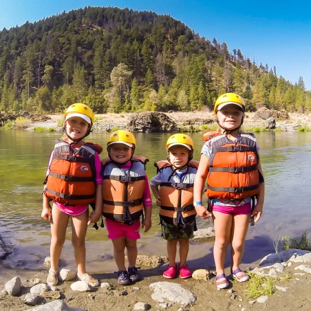 A weekend with the Munselles rafting the Trinity