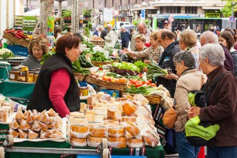 San Sebastian's markets