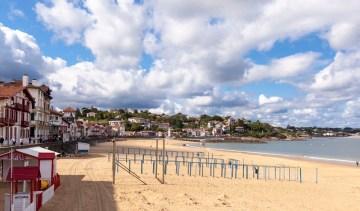 The quaint seaside town of Saint Jean de Luz
