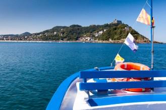 Across the bay to Isla de Santa Clara