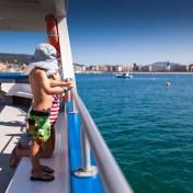 The boat back to San Sebastian