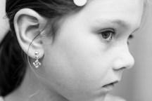Traditional lauburu (Basque cross) earrings as a souvenir