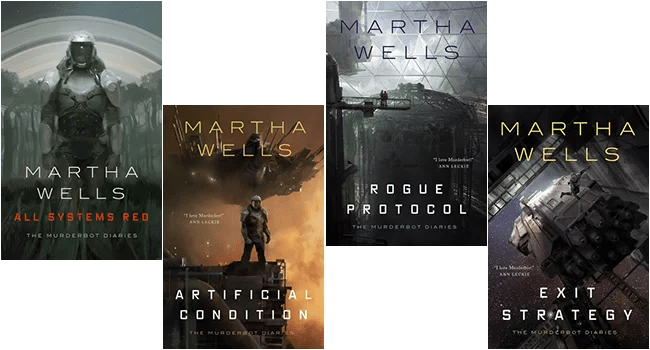 Review: Martha Wells & The Murderbot Diaries | A Study in Murderbot