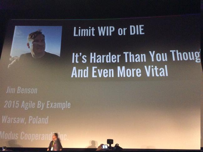 ABE 15 - Limit WIP or DIE