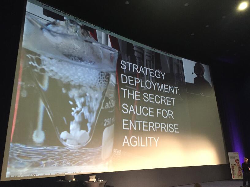 ABE 15 - Strategy Deployment - The Secret Sauce for Enterprise Agility