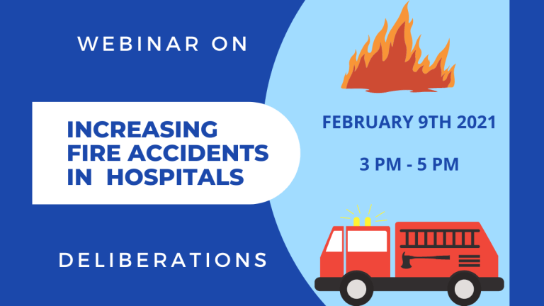 Webinar on Increasing Fire Accidents in Hospitals