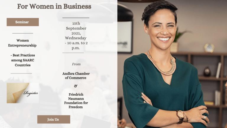 Women Entrepreneurship Seminar – Hybrid Event