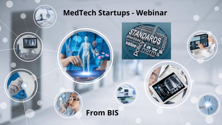 Webinar for Med Tech Startups