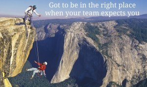 Trust Your Team to Be There