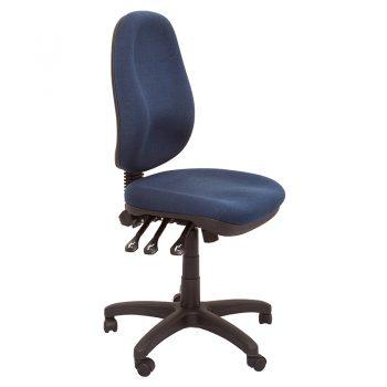 Carson Chair, Navy Fabric