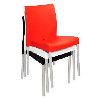Sabina Chair, Stacking