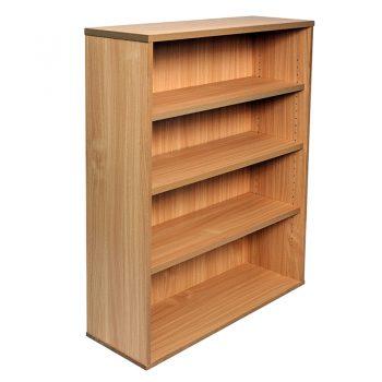 Smart Bookcase, 1200h x 900w x 315d, Beech