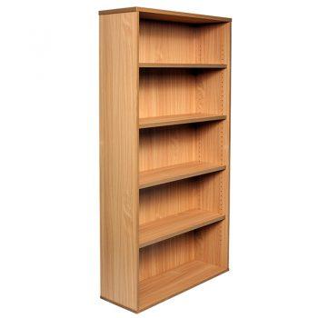 Smart Bookcase, 1800h x 900w x 315d, Beech