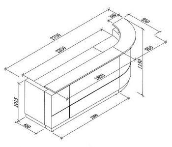 Monarch CAD Drawing