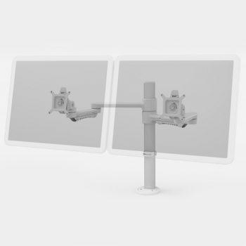 Versatile Standard Ergonomic Dual Monitor Arm