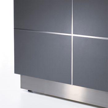 Front Panel Aluminium Inlay Detail